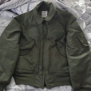 Military Navy Flyers jacket cold weather flight 45